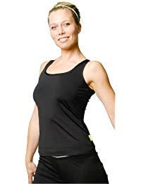 PURE LIME Double Scoop Tank sport fitness top shirt noir