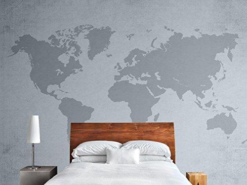 Fotomural Vinilo Pared Mapamundi | Fotomural para paredes | Mural | Vinilo Decorativo | Varias Medidas 200 x 150 cm | Decoración comedores, salones, habitaciones...