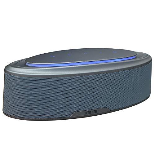Z&cl 20W HiFi Bluetooth Altavoz portátil Super Bass Altavoz inalámbrico Que Cambia...