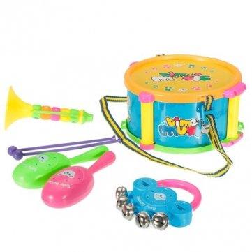 5-pcs-enfants-bebe-musical-tambour-trompette-sable-marteau-batons-cabasa-clochette-instruments-de-mu
