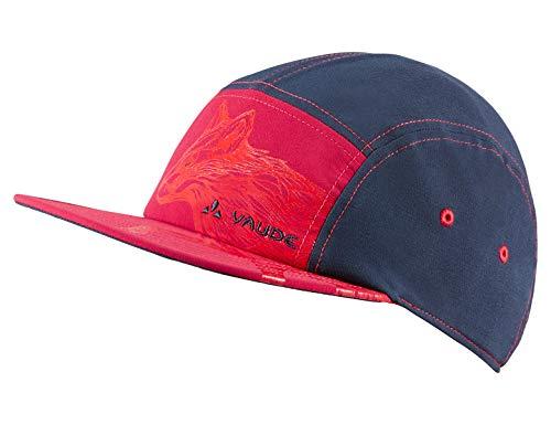 VAUDE Kids Tammar Baseball Cap Kappe, Bright pink, M
