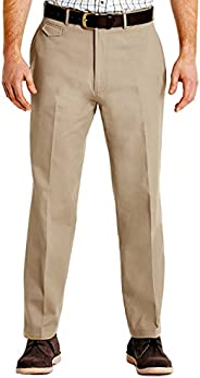 Pegasus Mens Cotton Chino Discreet Side Elasticated Stretch Waistband Trouser Pants