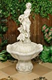Gartenbrunnen Statue Frauenskulptur