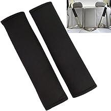 mewow 2pcs Protector de cinturón cinturón acolchado Cinturón de Seguridad Auto correa Protección Hombrera para anschnallgurt Cinturón de Seguridad