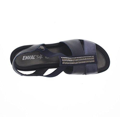 ENVAL SOFT , Damen Sandalen blu - 500