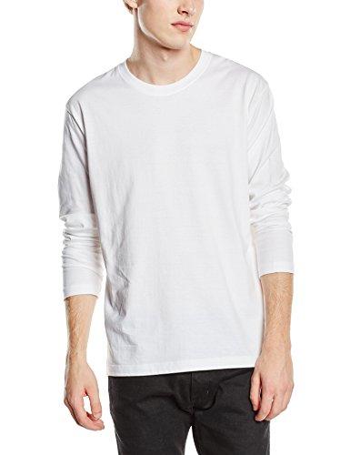 Stedman Apparel Herren T-Shirt Comfort-t Long Sleeve/st2130 Weiß - Weiß