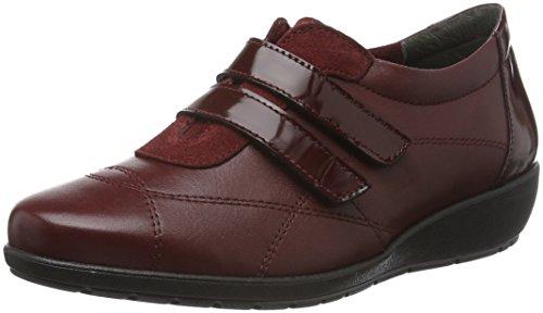 Jana Damen 24693 Kurzschaft Stiefel Rot (Bordeaux 549)