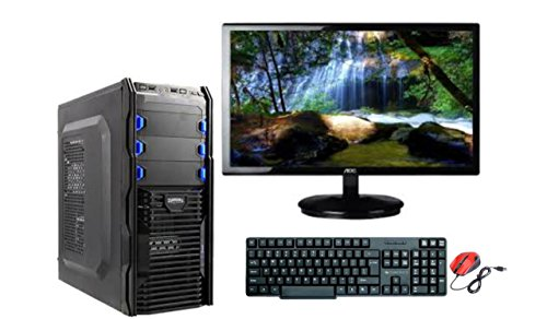 Assembled PC1 18.5-inch AOC LED Desktop (Intel Core 2 Duo,2.93GHZ/2GB/500GB), Black