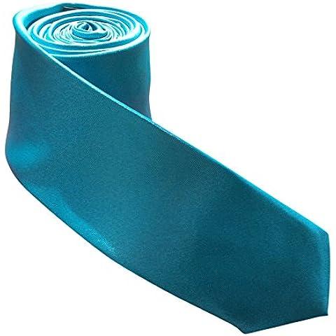 Para hombre flaco corbata en muchos estilos diferentes