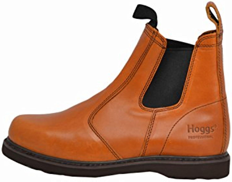 Hoggs of Fife - Zapatos de caza para hombre marrón Golden Tan
