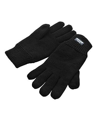 Result R147X Thinsulate Gloves, Black, Small/Medium