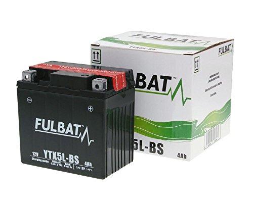 Batterie FULBAT YTX5L-BS MF wartungsfrei für KYMCO Super 8, 9 50 ccm Baujahr 99[ inkl.7.50 EUR Batteriepfand ]