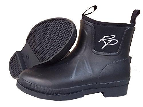 SK Rider Pro Mucker Cork stivali da equitazione/stivaletti Jodhpur/stivali di gomma–Bambini/Donna, colore nero Nero