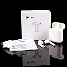 8Eninise Los Auriculares inalámbricos i10 TWS Bluetooth 5.0 convierten los Auriculares estéreo en los Auriculares Mic