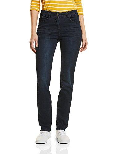 CECIL Damen Jeans 371172 Toronto Straight, Blau (Dark Blue Wash 10315), W40L32 (Herstellergröße: 29) (Jeans Tight Leg)