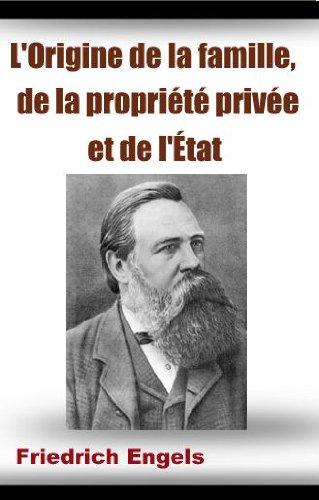L'Origine de la famille de la propriété privée et de l'État