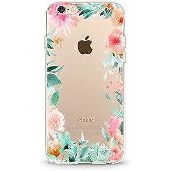 coque iphone 6 fleur silicone