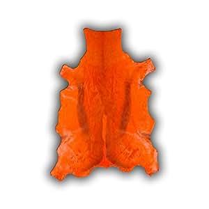 Peau de Springbok teintée orange Siero