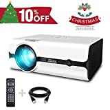 Best Art Projectors - Projector, ELEPHAS 2500 Lumens Video Projector Portable Mini Review