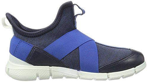 Ecco Jungen Intrinsic Sneaker Low-Top Blau (50400marine/marine-marine)