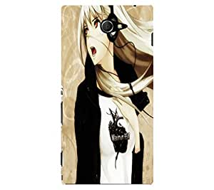 Printed back cover for Sony Xperia M2