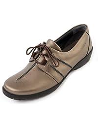 Schuhzoo - Zapatos de cordones para mujer target_attribute_value, color Amarillo, talla 41 UE