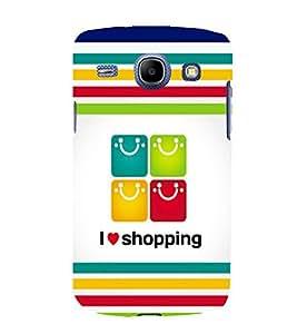 printtech Shopping Bag Back Case Cover for Samsung Galaxy A5 / Samsung Galaxy A5 A500F