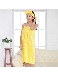Amazon.co.uk  Yellow - Bathrobes   Nightwear  Clothing 32b7b21e7