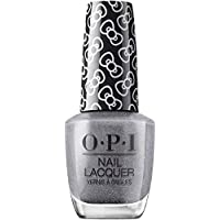 OPI Hello Kitty Nail Polish, Grey Shimmer, 15ml - Isn't She Iconic!