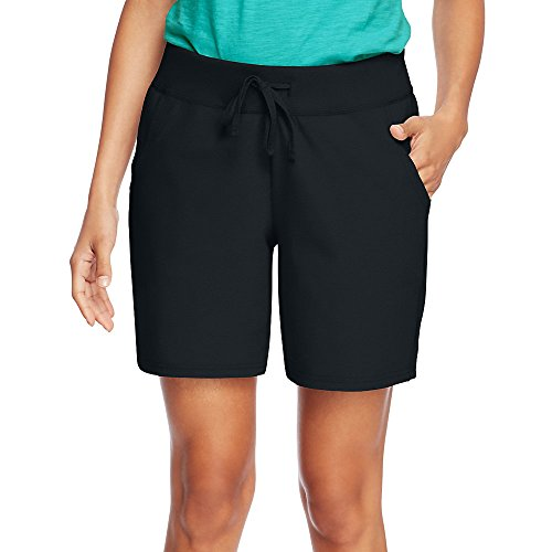 Hanes Womens Jersey Pocket Short