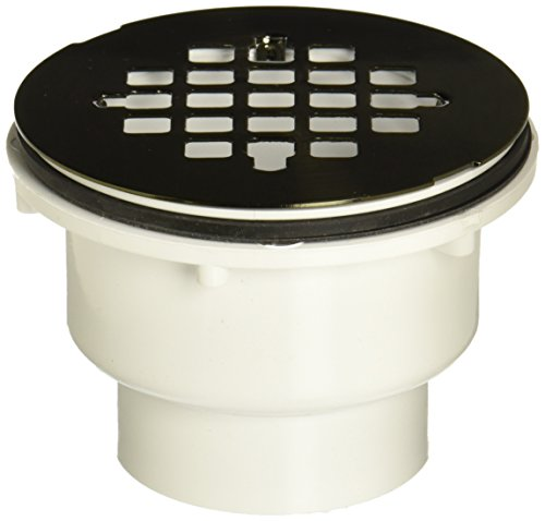 jaclo-86560-ab-no-caulk-shower-drain-for-2-pvc-antique-brass