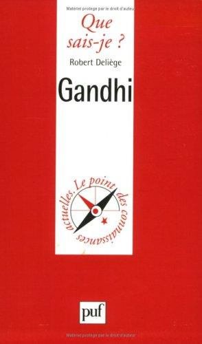 Gandhi par Robert Deliège, Que sais-je?