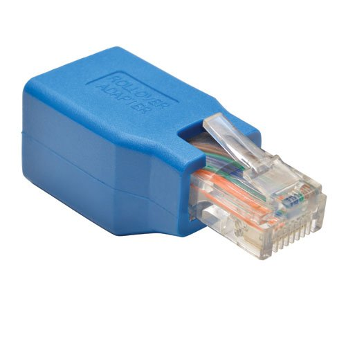 Tripp Lite Cisco Serielle Konsole Rollover RJ45 M/F Adapter - Kabel Interface/Gender Adapter (RJ-45, RJ-45, blau, männlich/weiblich) (Cisco Wireless-netzwerk-adapter)