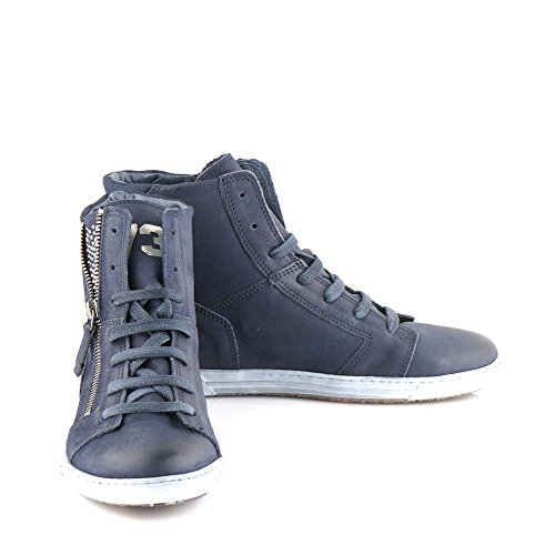 Felmini - Scarpe Donna - Innamorarsi com Jomar 8578 - Sneakers - Pelle Genuina - Blu Blu