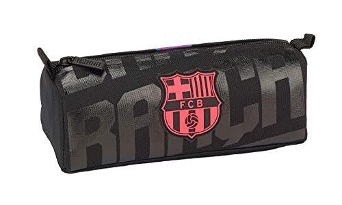 Estuche FC Barcelona Portatodo sencillo del club culé con los colores de la tercera equipación Departamento con cierre de cremallera Producto oficial FCB fabricado por Safta Dimensiones:21.00 x 8.00 x 7.00