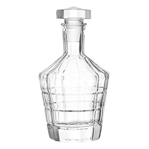 Leonardo Spiritii Karaffe, Whiskykaraffe, Wasserkaraffe, Krug, Glas, 700 ml, 022761
