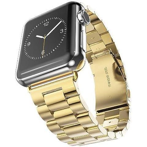 Apple Watch Cinturino,38mm SongNi®IL polso con la fibbia di Metallo di Acciaio inossidabile, con sostituzione di Mele iWatch orologi, Arco bracciale di