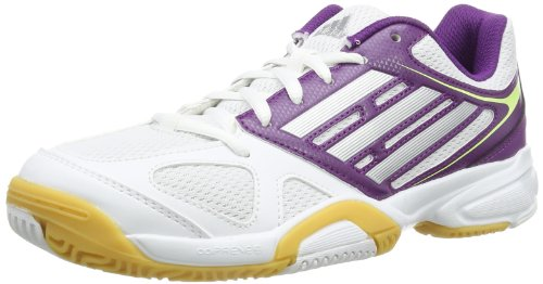 adidas Opticourt Ligra 2, Scarpe da pallavolo donna Multicolore (Mehrfarbig (Running White / Tech Grey Metallic / Tribe Purple))