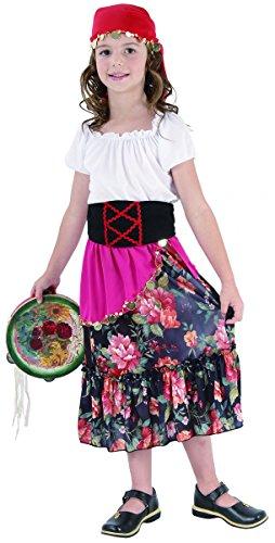 Imagen de disfraz de gitana para niña
