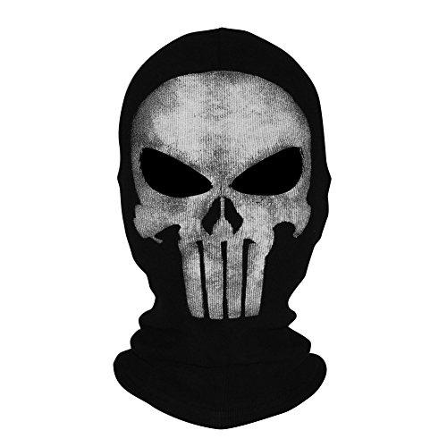 Innturt tela Ghost máscara pasamontañas calavera