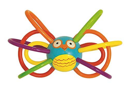 STY 1 bis 12 Monate Baby Spielzeug, Amazon Baby Spielzeug Kinderkrankheiten Spielzeug und sensorische Beißring Aktivität Spielzeug Rassel Spielzeug, Geburtstagsgeschenk, Baby giftGeschenk Gift (Eule)