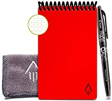 Rocketbook Everlast Mini Smart réutilisable ordinateur portable Mini - A6 ,rouge