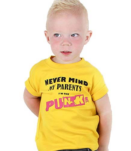 Punk T-shirt for Kids, Never My My Parents, up to 4 years