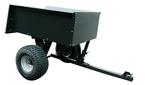 Turfmaster Gartenanhänger Geräteanhänger aus Stahl mit breiten Geländereifen, max. Nutzlast 680 kg | Stabil und vielseitig einsetzbar