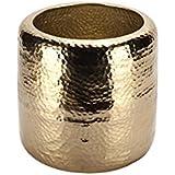 vosteen 99427–25/65Kübel, metal, Oro, 25x 25x 25cm