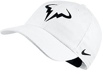 Nike Rafa Bull Logo Hat- White