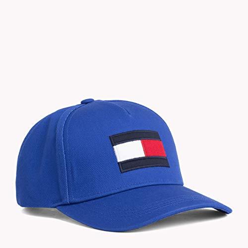 Tommy Hilfiger Herren Flag Baseball Cap, Blau (Surf The Web 435), One Size (Herstellergröße: OS)
