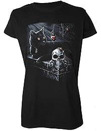 Darkside Clothing T-Shirt chat Noir