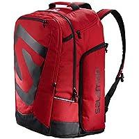Salomon Bolsa para equipo de esquí, 50 l, extend go-to-snow gear bag, rojo (Barbados Cherry) y negro