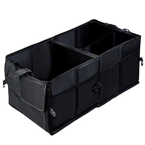 Preisvergleich Produktbild Car Boot Bag, Multifunktions-Oxford-Gewebe-faltbarer Auto-Fracht-Aufbewahrungsbehälter-Stammorganisator für Spielraum-Ferien-Camping